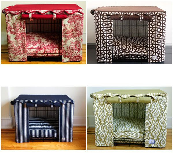 Dog Crate Cover DIY  Diy No Sew Dog Crate Cover WoodWorking Projects & Plans