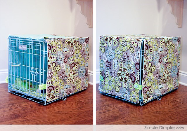 Dog Crate Cover DIY  21 Easy DIY Projects for Dog Lovers BarkPost