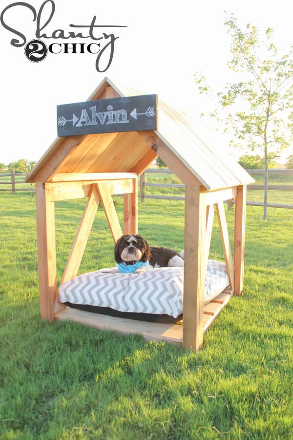 Dog House DIY  DIY Dog House Shanty 2 Chic