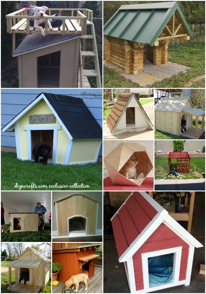 Dog House DIY  15 Brilliant DIY Dog Houses With Free Plans For Your Furry