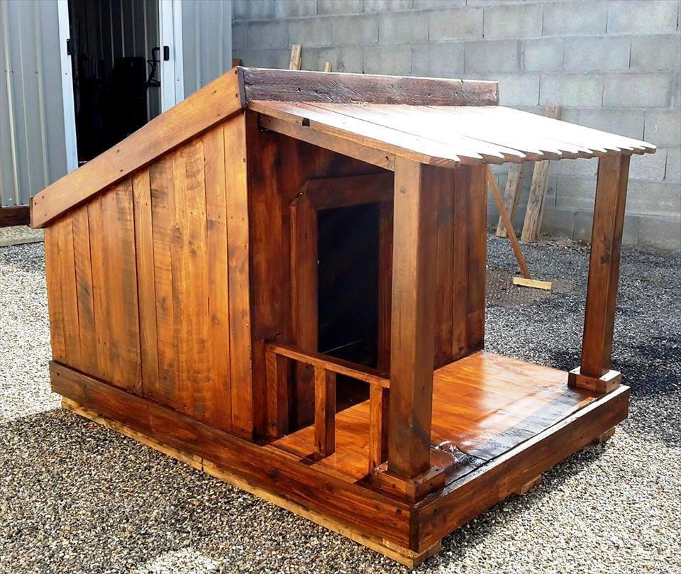 Dog House DIY  Pallet Dog House Step by Step Plan DIY & Crafts