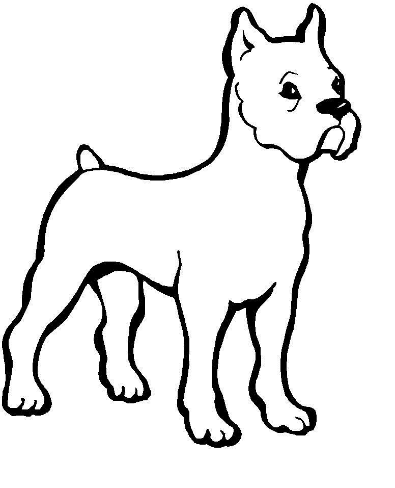 Dogs Coloring Pages  Free Printable Dog Coloring Pages For Kids