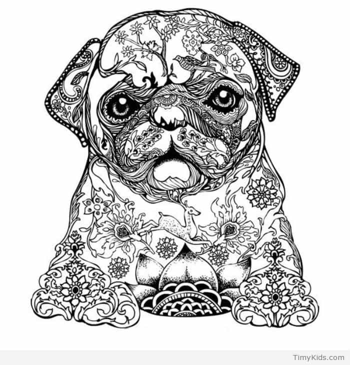 Best ideas about Dogs Coloring Pages For Adults . Save or Pin 30 puppy coloring pages Now.