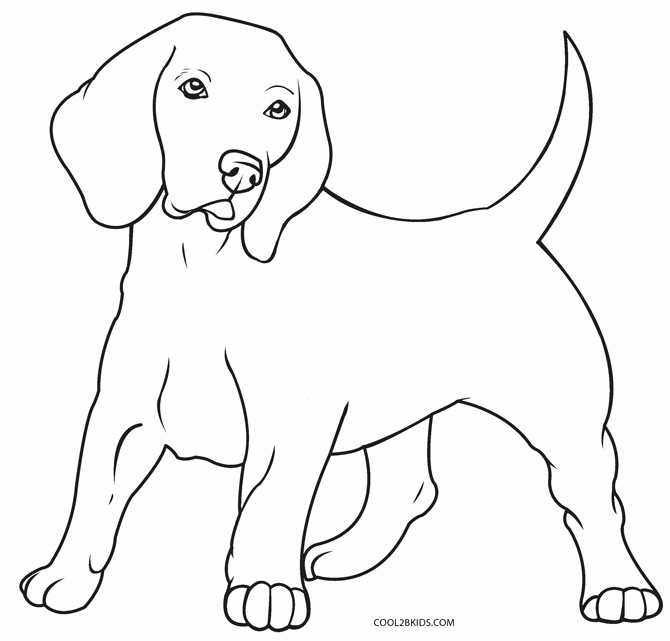 Dogs Coloring Pages  Printable Dog Coloring Pages For Kids