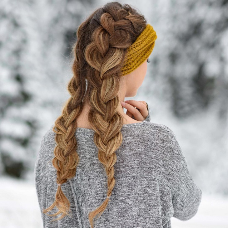 Double Braid Hairstyles  20 French Braid Hairstyle Ideas Designs