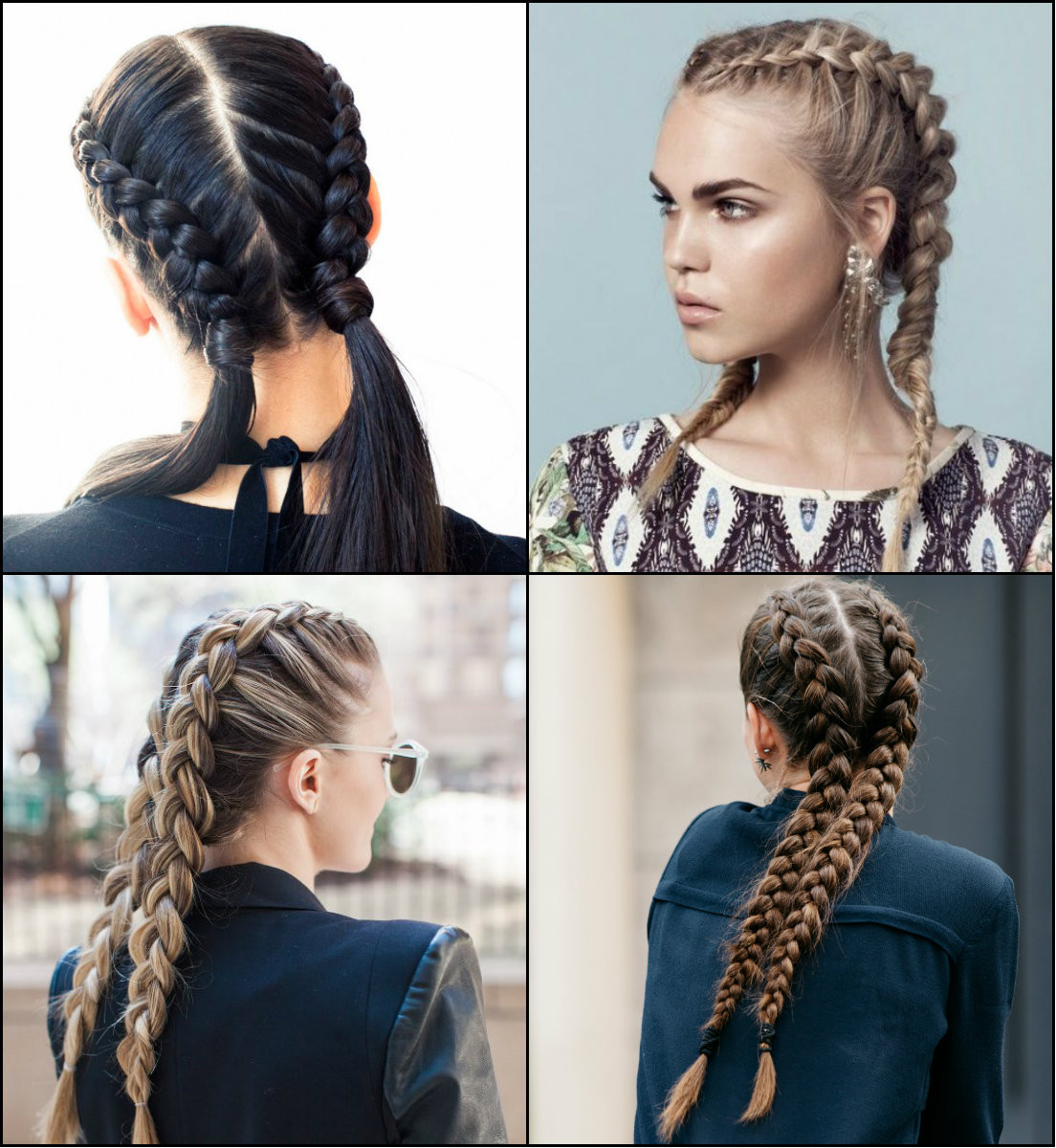 Double Braid Hairstyles  Volitional Double Braids Hairstyles To Dare Look Different