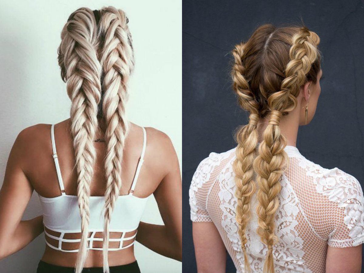 Double Braid Hairstyles  Dutch Braids Hairstyles Ideas To Inject You Some Romance