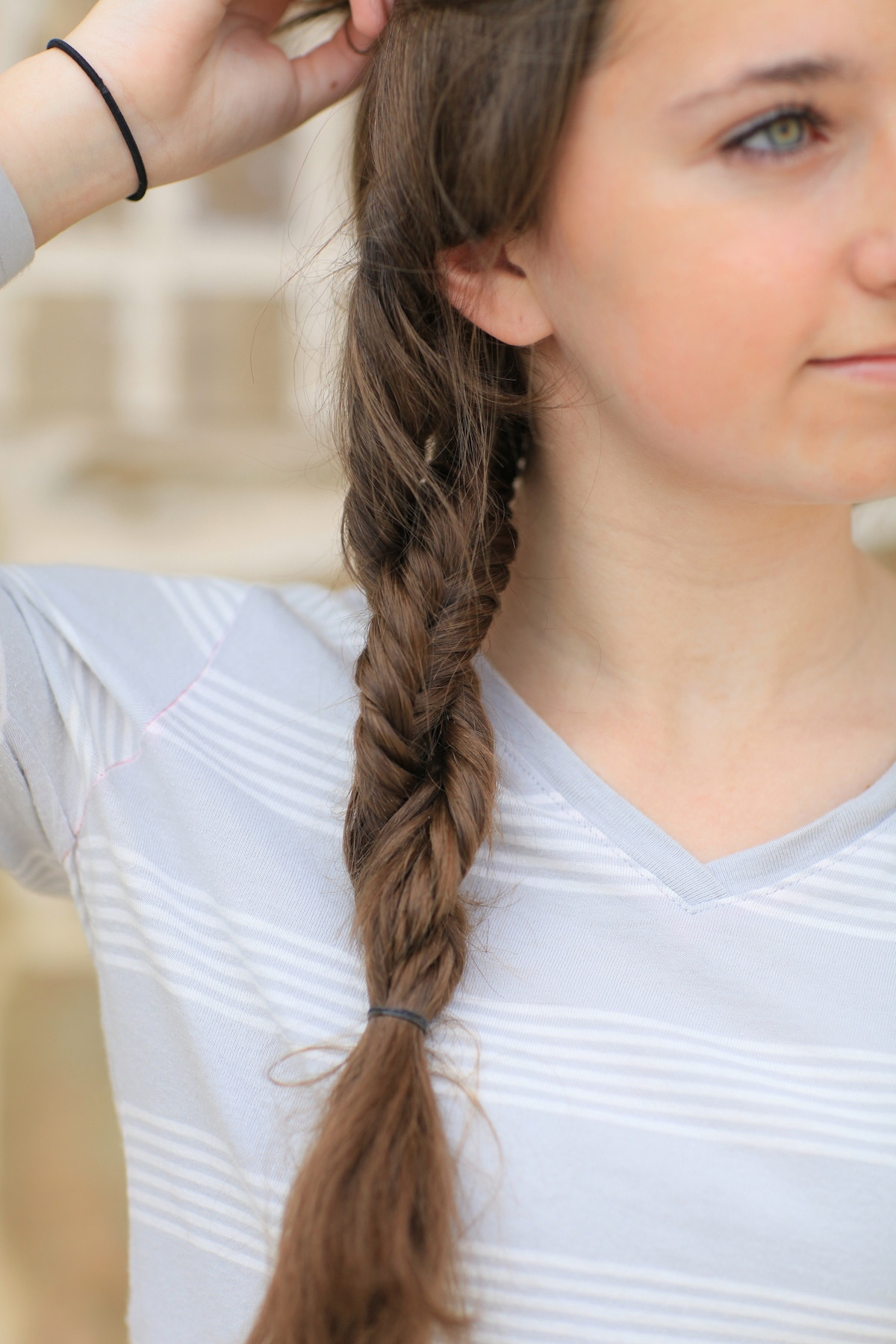 Double Braid Hairstyles  DIY Double Fishtail Twist Braided Hairstyles