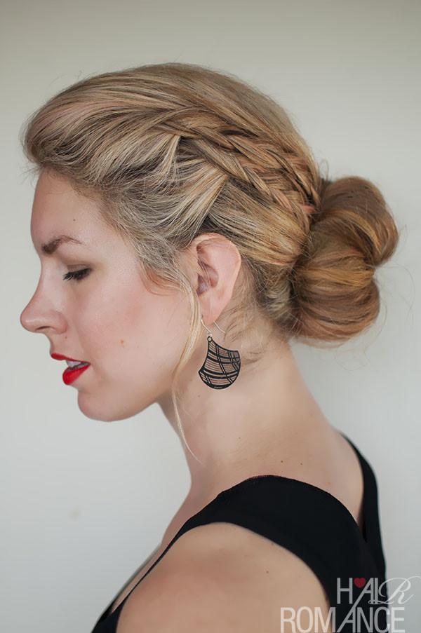 Double Braid Hairstyles  Double braid bun hairstyle tutorial Hair Romance