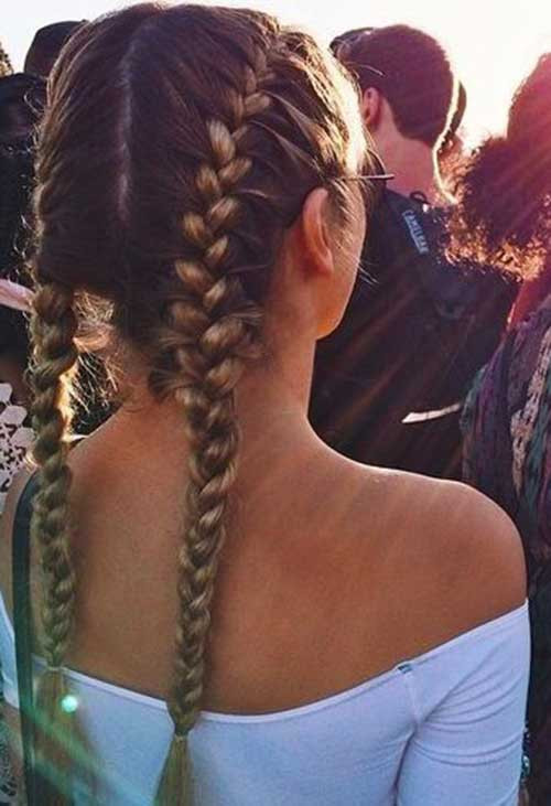 Double Braid Hairstyles  20 Cute Styles for Long Hair