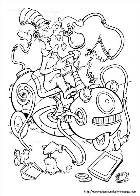 Dr.Seuss Coloring Book  Coloring Pages For Kids Dr Seuss coloring pages
