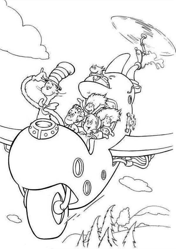 Dr. Seuss Coloring Pages For Kids  Dr Seuss Coloring Pages Free Download Coloring Home
