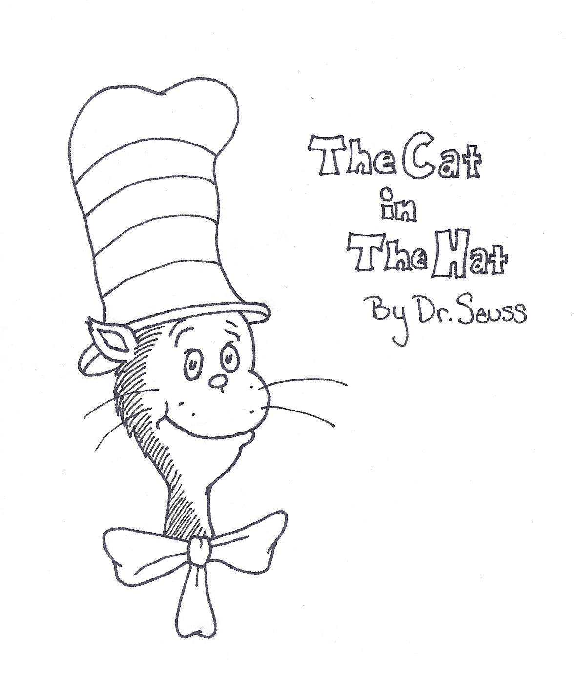 Dr Seuss Coloring Pages For Kids  Dr Seuss Printable Coloring Pages