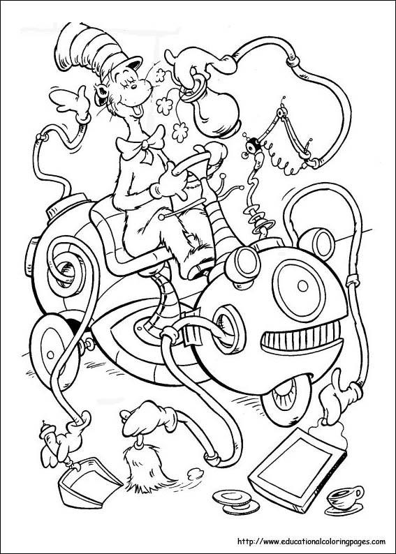 Dr. Seuss Coloring Pages For Kids  10 Dr Seuss Coloring Pages Coloring Pages For Kids