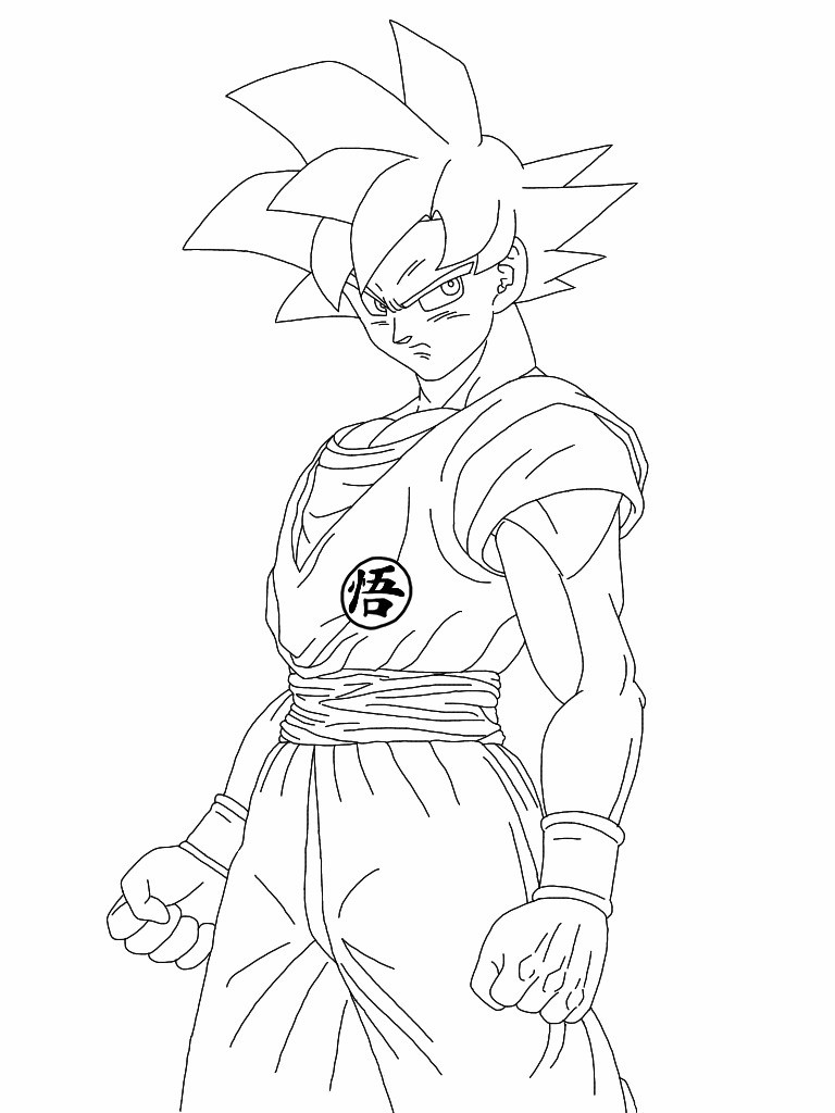Dragon Ball Super Coloring Pages  35 Dragon Ball Z Coloring Pages ColoringStar