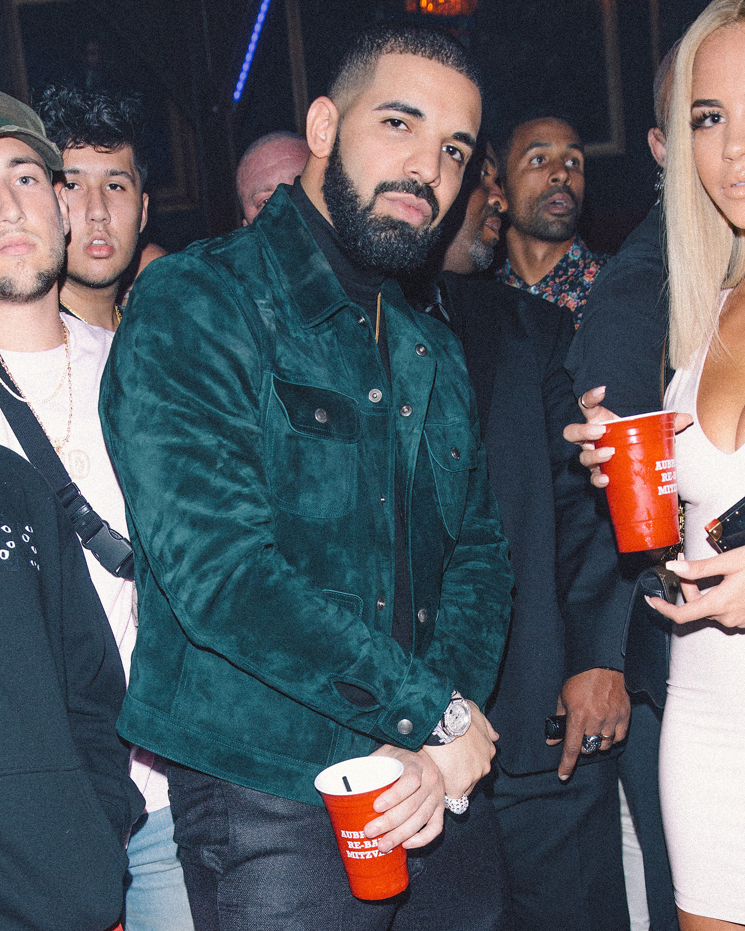 Best ideas about Drake Birthday Party . Save or Pin Drake Celebrates 31st Birthday at L A Nightclub Now.