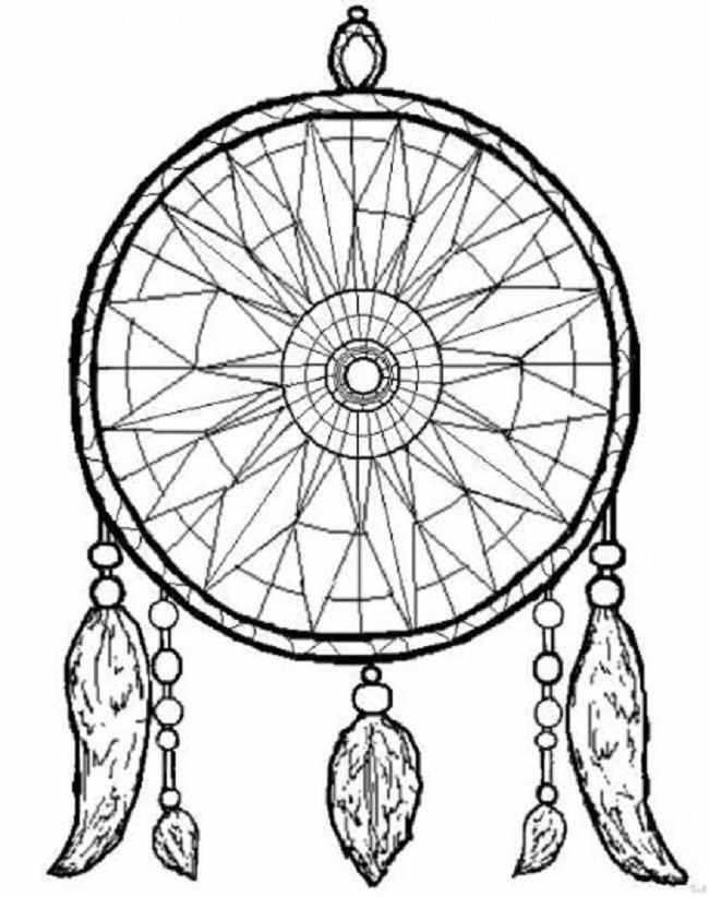 Dreamcatcher Printable Coloring Pages  24 best images about Dreamcatcher Coloring Pages on