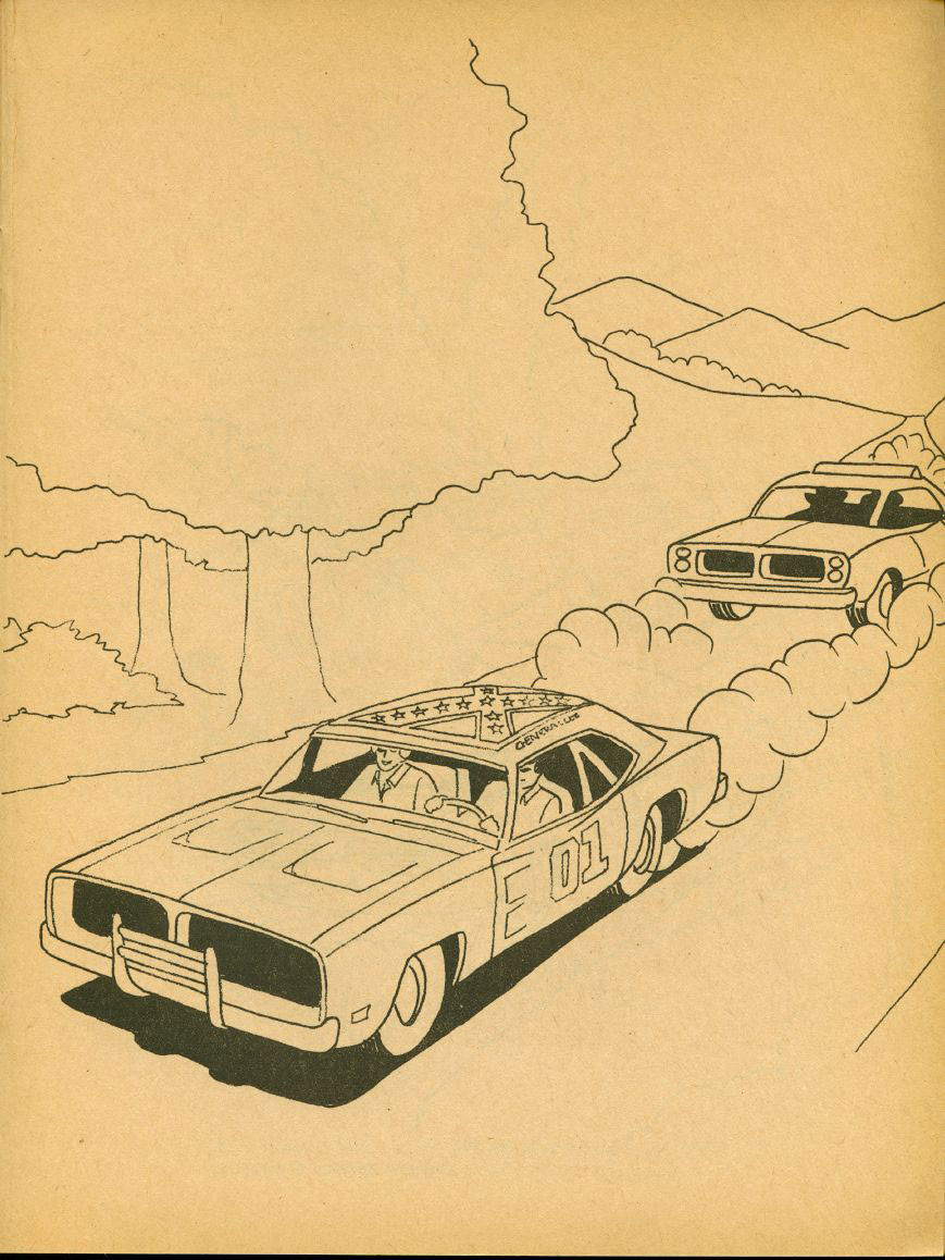Dukes Of Hazzard Coloring Pages For Kids  Dukes Hazzard