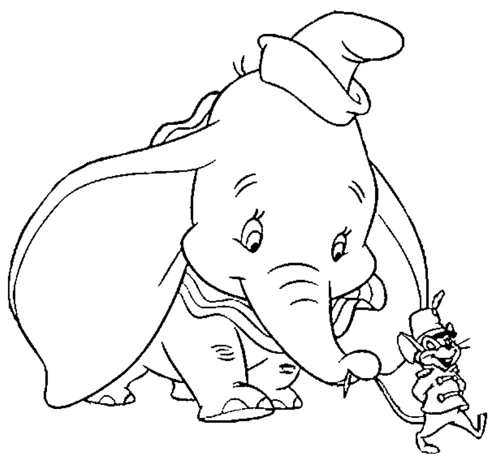 Best ideas about Dumbo Coloring Book Pages . Save or Pin dumbo coloring pages Now.
