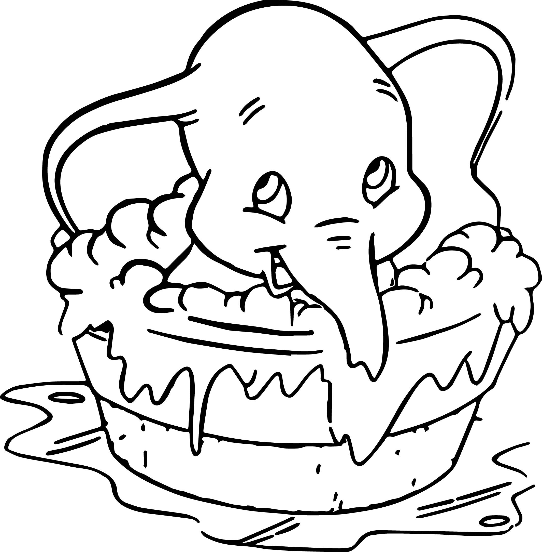 Best ideas about Dumbo Coloring Book Pages . Save or Pin Disney Dumbo Elephant Coloring Pages Now.