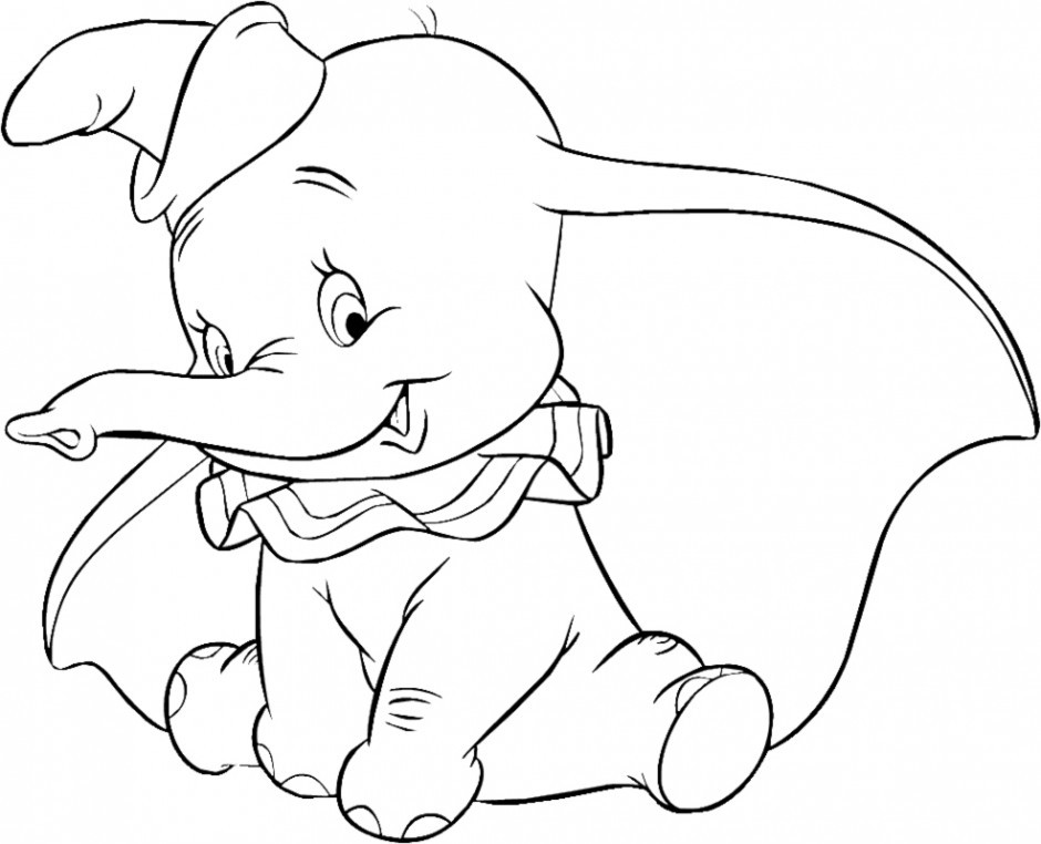 Best ideas about Dumbo Coloring Book Pages . Save or Pin Dumbo Coloring Pages AZ Coloring Pages Now.