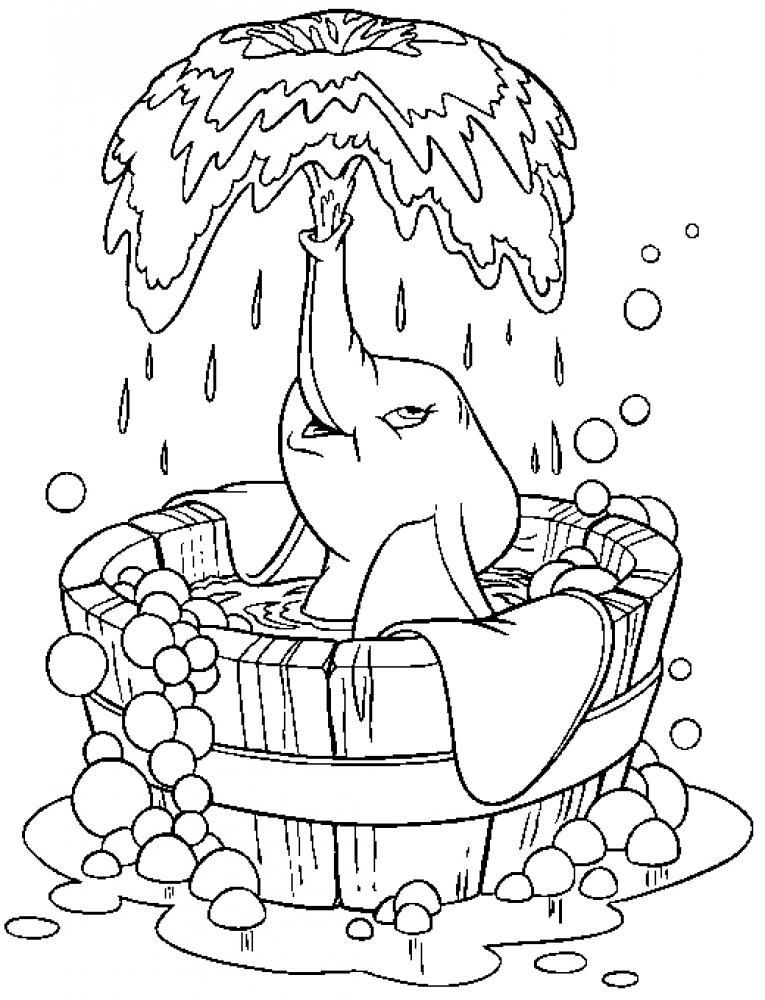 Best ideas about Dumbo Coloring Book Pages . Save or Pin Dumbo Coloring Pages Coloring Home Now.