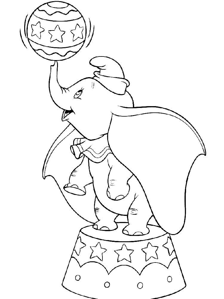 Best ideas about Dumbo Coloring Book Pages . Save or Pin Dumbo coloring pages Download and print Dumbo coloring pages Now.
