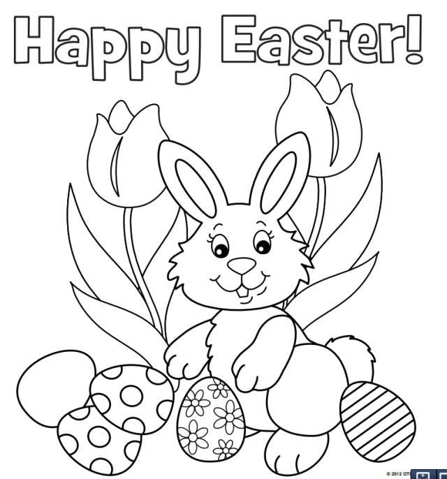 Best ideas about Easter Coloring Pages For Girls . Save or Pin Baby Easter Bunny Coloring Pages – Color Bros Now.