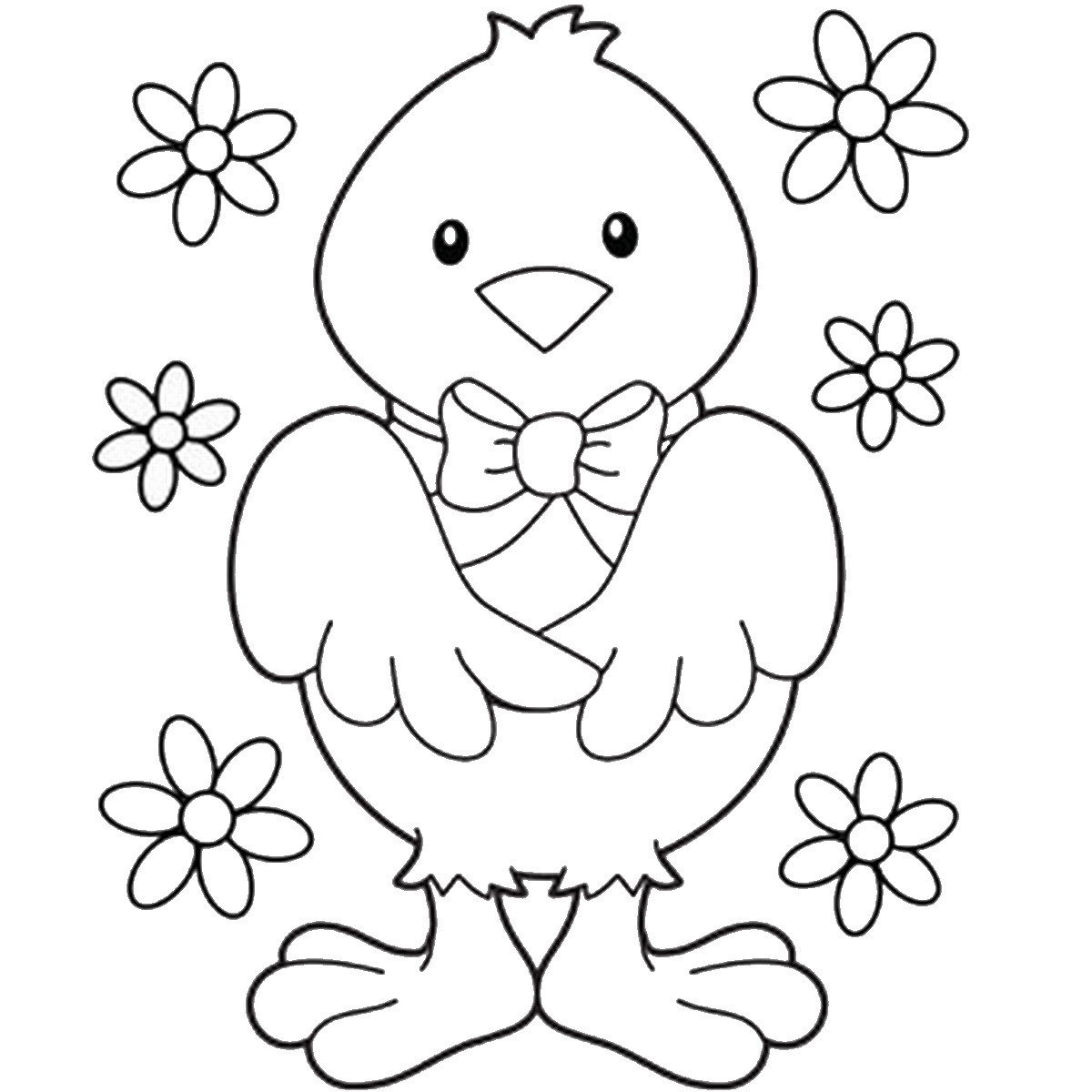 Easter Coloring Pages For Kids  Easter Coloring Pages