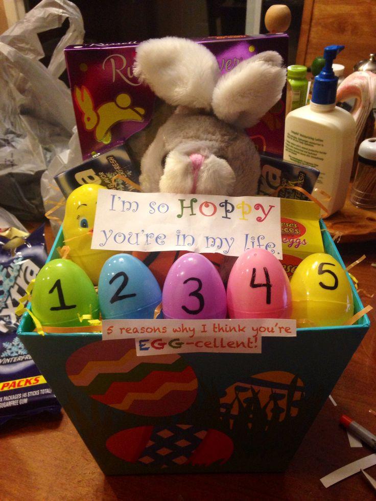 Easter Gift Ideas For Girlfriend  17 Best ideas about Boyfriend Gift Basket on Pinterest