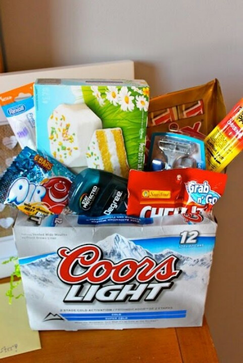 Easter Gift Ideas For Girlfriend  Easter Basket for Men not like I have a boyfriend or