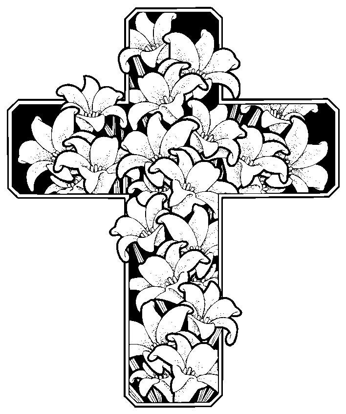 Easter Printable Coloring Pages Religious  Free Printable Easter Coloring Pages Religious Printable