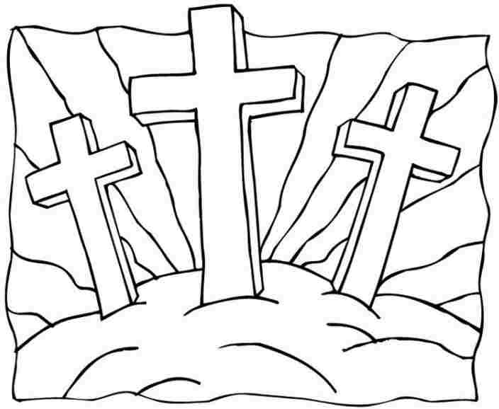 Easter Printable Coloring Pages Religious  Religious Coloring Pages For Easter – Color Bros