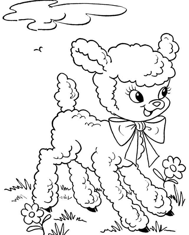 Easter Printable Coloring Pages Religious  Free Printable Easter Coloring Pages
