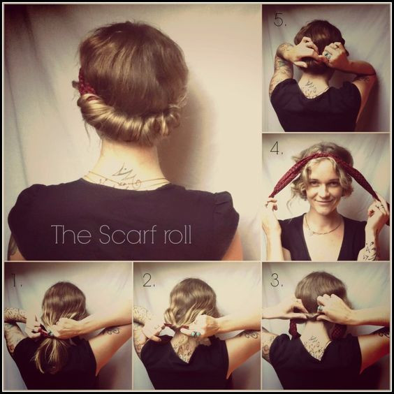 Best ideas about Easy 1940S Hairstyles . Save or Pin 1940s hairstyles 1940s and Scarf headbands on Pinterest Now.