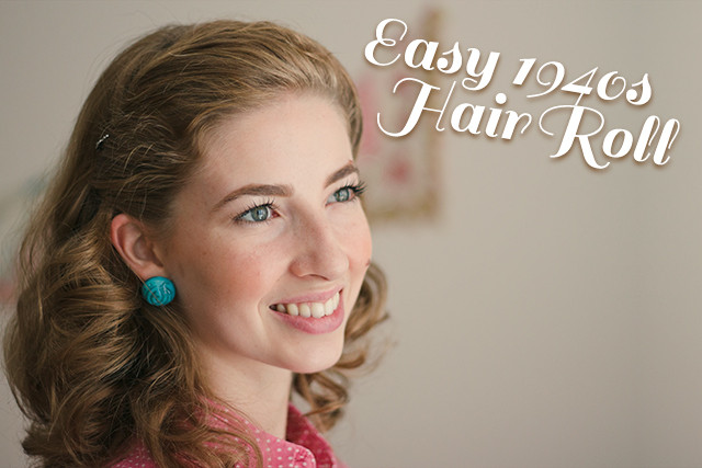 Best ideas about Easy 1940S Hairstyles . Save or Pin Easy 1940s Hair Roll Tutorial video The Boyer Sisters Now.