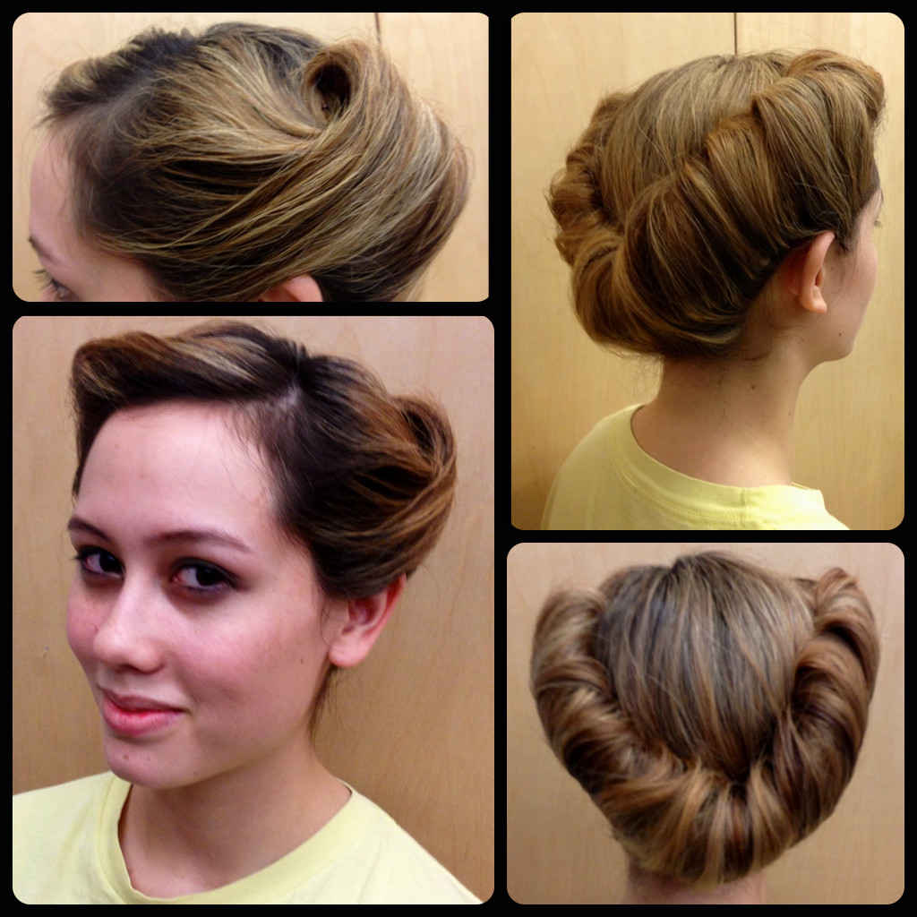Best ideas about Easy 1940S Hairstyles . Save or Pin StyleNoted Now.