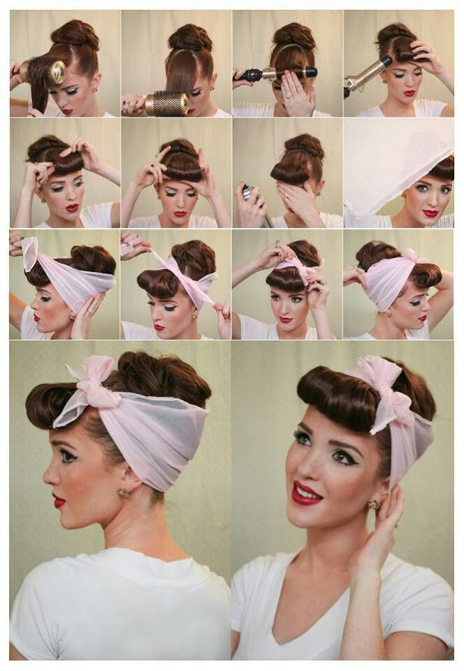 Best ideas about Easy 1940S Hairstyles . Save or Pin 40 Cute and Easy Hairstyle Tutorials Page 4 of 107 Now.