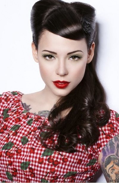 Best ideas about Easy 1940S Hairstyles . Save or Pin rockabilly hairstyle 1940s Latest Hair Styles Cute Now.