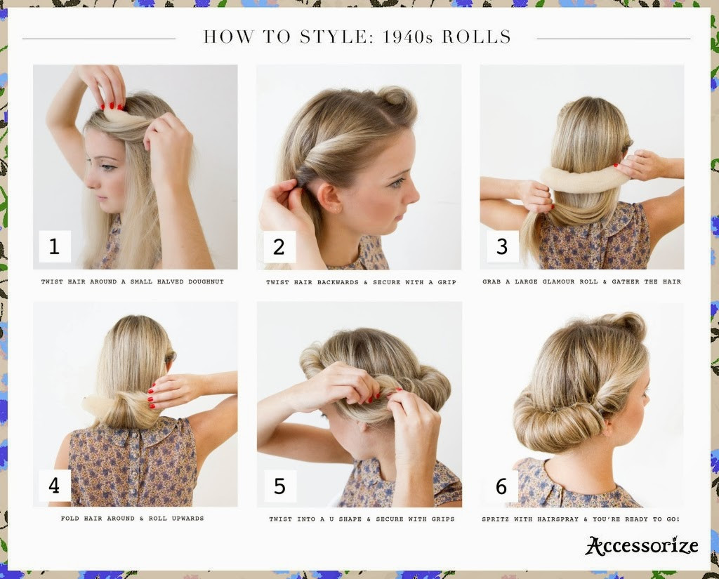 Best ideas about Easy 1940S Hairstyles . Save or Pin Easy 40s Hairstyles Now.