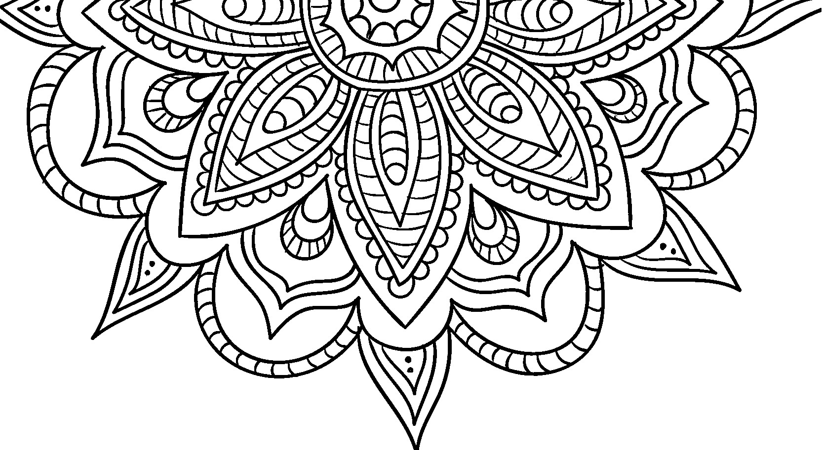 Best ideas about Easy Adult Coloring Books . Save or Pin Adult Coloring Pages Patterns Coloring Home Now.