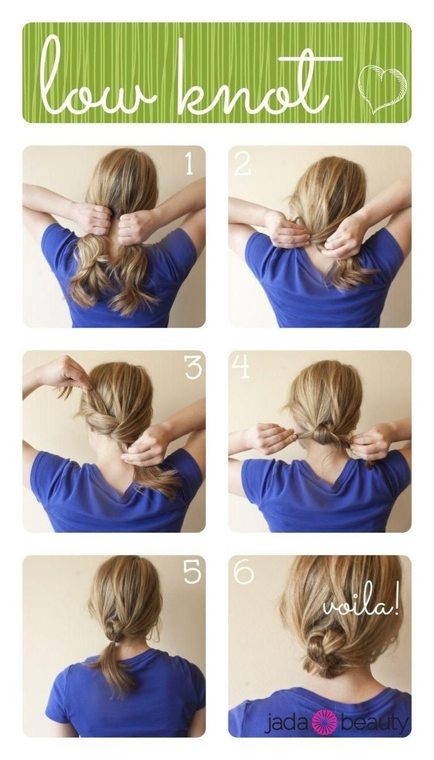 Best ideas about Easy And Cute Hairstyles . Save or Pin 21 Easy Hairstyles You Can Wear To Work Now.
