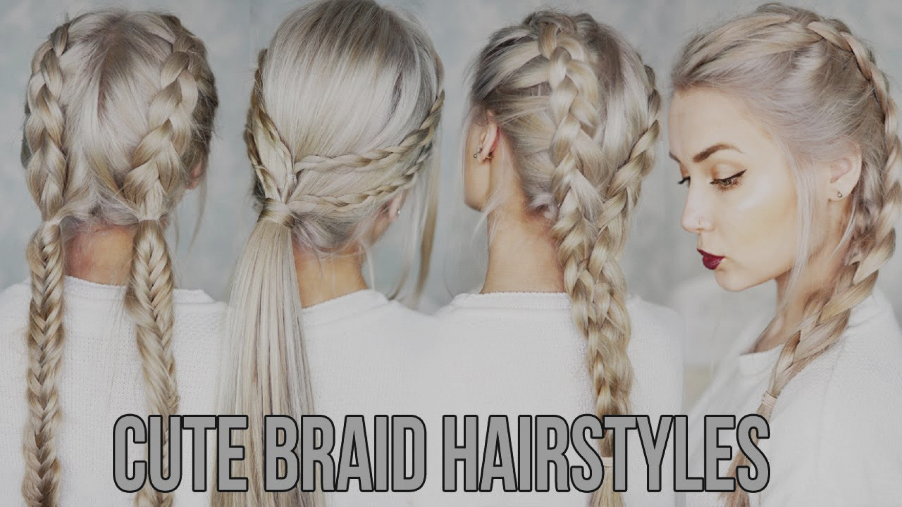 Best ideas about Easy And Cute Hairstyles . Save or Pin Trend Braid Hairstyles Easy 3 CUTE EASY Now.