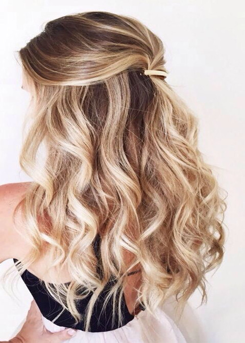 Best ideas about Easy And Cute Hairstyles . Save or Pin Top 15 Cute Easy Hairstyles for Spring 2017 Now.