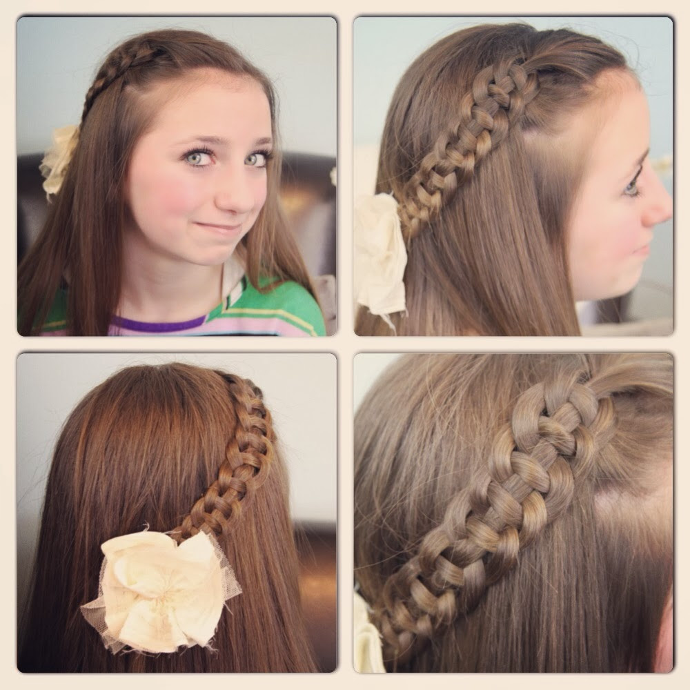 Best ideas about Easy And Cute Hairstyles . Save or Pin 6 Lovely Nice Simple Hairstyles For School Now.
