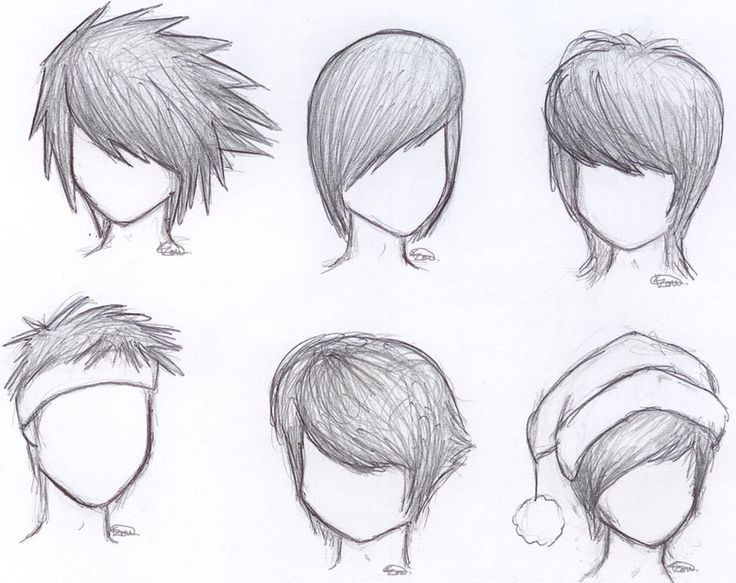 Best ideas about Easy Anime Hairstyles . Save or Pin anime hair with hat drawing male Google Search Now.