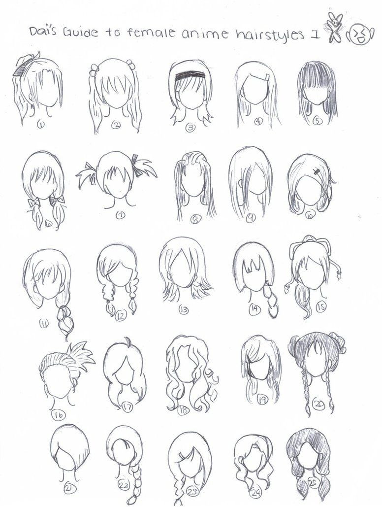 Best ideas about Easy Anime Hairstyles . Save or Pin Cute art hairstyles CHIBI Pinterest Now.