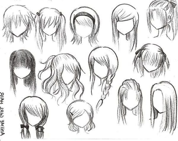 Best ideas about Easy Anime Hairstyles . Save or Pin Anime girl hairstyles All hair style for womens Now.