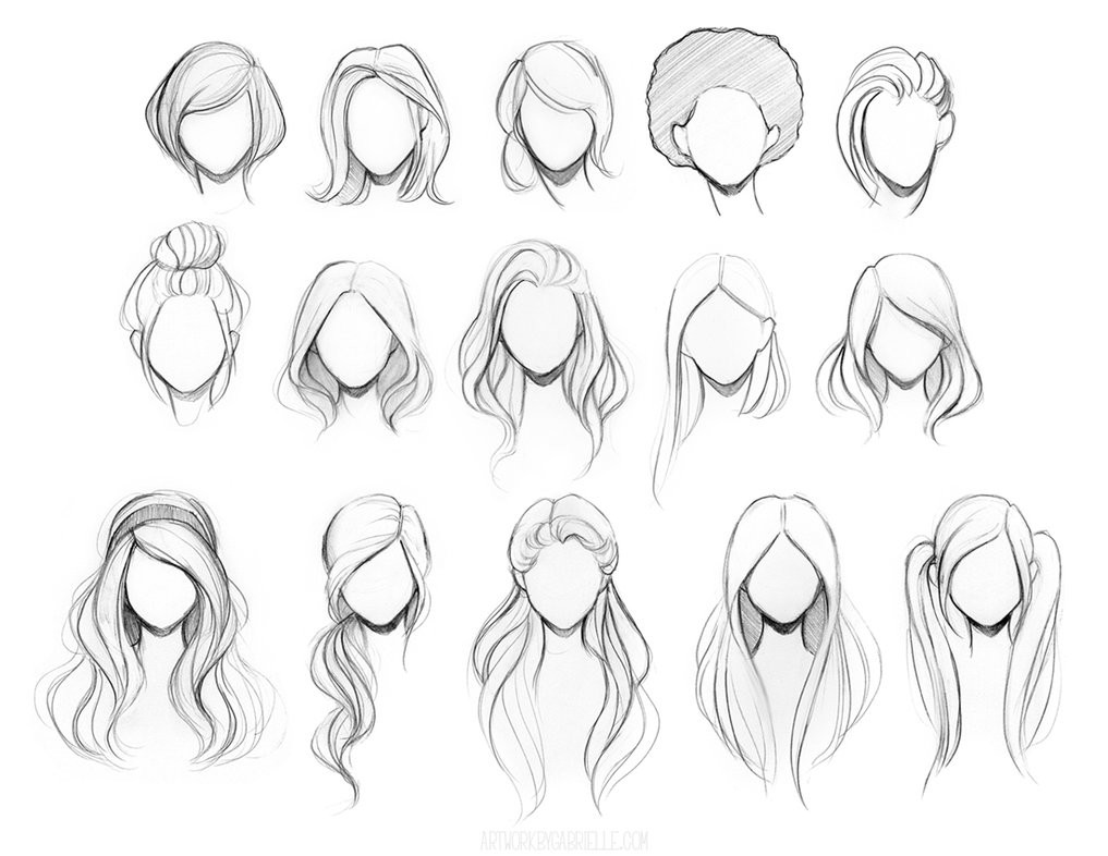 Best ideas about Easy Anime Hairstyles . Save or Pin Character Hair Reference Sheet by gabbyd70 on DeviantArt Now.