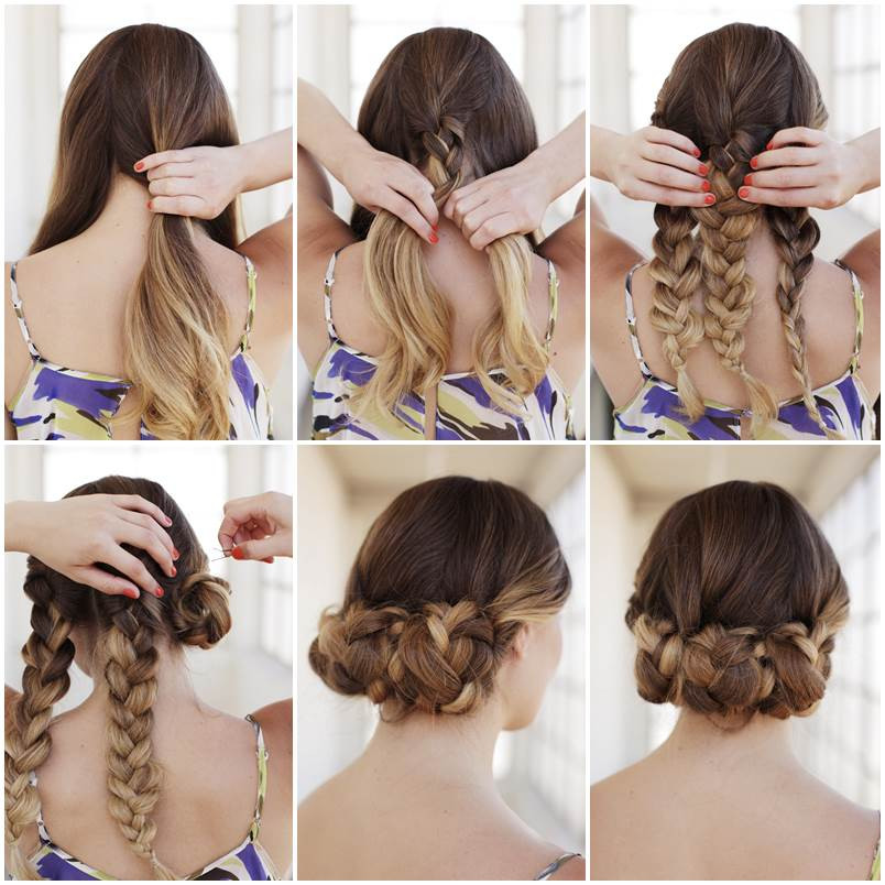 Easy Braided Hairstyles To Do Yourself  Easy braids for long hair to do yourself